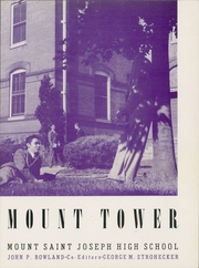 Page 7, 1948 Edition, Mount St Joseph High School - Mount Tower Yearbook (Baltimore, MD) online yearbook collection