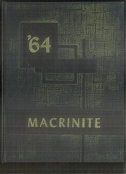 Mount St Macrina Academy - Macrinite Yearbook (Uniontown, PA) online yearbook collection, 1964 Edition, Cover