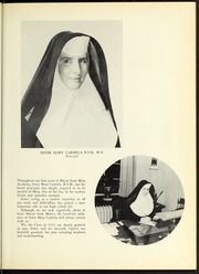 Page 15, 1953 Edition, Mount St Marys Academy - Mercycrest Yearbook (Fall River, MA) online yearbook collection