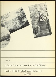 Page 9, 1953 Edition, Mount St Marys Academy - Mercycrest Yearbook (Fall River, MA) online yearbook collection
