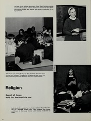 Page 12, 1969 Edition, Mount St Marys Academy - Mercycrest Yearbook (Fall River, MA) online yearbook collection