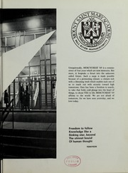 Page 7, 1969 Edition, Mount St Marys Academy - Mercycrest Yearbook (Fall River, MA) online yearbook collection