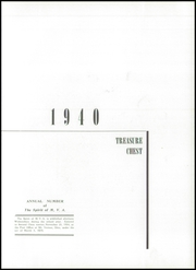 Page 7, 1940 Edition, Mount Vernon Academy - Treasure Chest Yearbook (Mount Vernon, OH) online yearbook collection