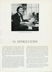 Page 13, 1963 Edition, Mount Vernon Seminary - Cupola Yearbook (Washington, DC) online yearbook collection