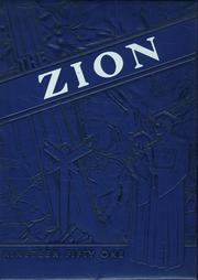Mount Zion High School - Zionian Yearbook (Bucyrus, OH) online yearbook collection, 1951 Edition, Cover