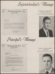 Page 9, 1957 Edition, Mountain Home High School - Bomber Yearbook (Mountain Home, AR) online yearbook collection