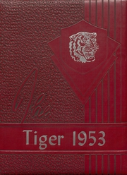 Mountain View High School - Tiger Yearbook (Mountain View, OK) online yearbook collection, 1953 Edition, Cover