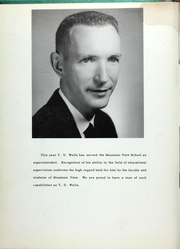 Page 9, 1961 Edition, Mountain View High School - Yellowjacket Yearbook (Mountain View, AR) online yearbook collection
