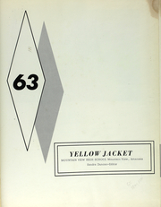 Mountain View High School - Yellowjacket Yearbook (Mountain View, AR) online yearbook collection, 1963 Edition, Page 6 of 92