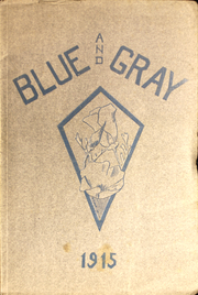 Mountain View Union High School - Blue and Gray Yearbook (Mountain View, CA) online yearbook collection, 1915 Edition, Cover