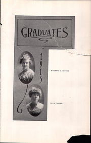 Page 14, 1915 Edition, Mountain View Union High School - Blue and Gray Yearbook (Mountain View, CA) online yearbook collection
