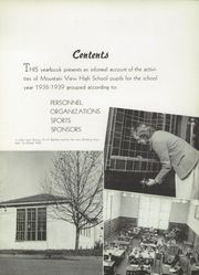Mountain View Union High School - Blue and Gray Yearbook (Mountain View, CA) online yearbook collection, 1939 Edition, Page 9