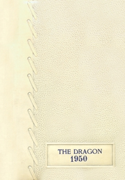 Mountainburg High School - Dragon Yearbook (Mountainburg, AR) online yearbook collection, 1950 Edition, Cover