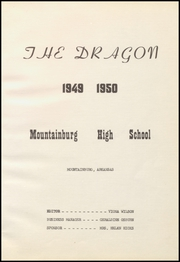 Page 7, 1950 Edition, Mountainburg High School - Dragon Yearbook (Mountainburg, AR) online yearbook collection