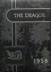 Mountainburg High School - Dragon Yearbook (Mountainburg, AR) online yearbook collection, 1958 Edition, Cover