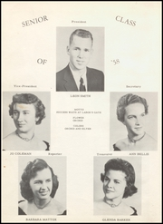 Page 10, 1958 Edition, Mountainburg High School - Dragon Yearbook (Mountainburg, AR) online yearbook collection
