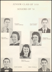 Page 16, 1958 Edition, Mountainburg High School - Dragon Yearbook (Mountainburg, AR) online yearbook collection
