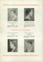 Mount Carmel Area High School - Carmelite Yearbook (Mount Carmel, PA) online yearbook collection, 1931 Edition, Page 12 of 66