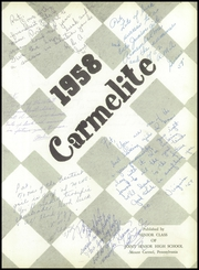 Page 7, 1958 Edition, Mount Carmel Area High School - Carmelite Yearbook (Mount Carmel, PA) online yearbook collection