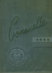 Mount Carmel Catholic High School - Yearbook (Mount Carmel, PA) online yearbook collection, 1956 Edition, Cover