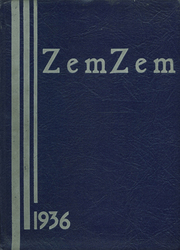 Mount Healthy High School - Zem Zem Yearbook (Cincinnati, OH) online yearbook collection, 1936 Edition, Cover