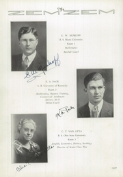 Page 12, 1936 Edition, Mount Healthy High School - Zem Zem Yearbook (Cincinnati, OH) online yearbook collection