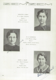 Page 13, 1936 Edition, Mount Healthy High School - Zem Zem Yearbook (Cincinnati, OH) online yearbook collection