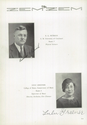 Page 14, 1936 Edition, Mount Healthy High School - Zem Zem Yearbook (Cincinnati, OH) online yearbook collection