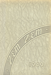 Mount Healthy High School - Zem Zem Yearbook (Cincinnati, OH) online yearbook collection, 1949 Edition, Cover