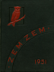 Mount Healthy High School - Zem Zem Yearbook (Cincinnati, OH) online yearbook collection, 1951 Edition, Cover