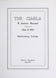 Page 7, 1916 Edition, Muhlenberg College - Ciarla Yearbook (Allentown, PA) online yearbook collection