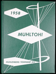 Muhlenberg High School - Muhltohi Yearbook (Laureldale, PA) online yearbook collection, 1958 Edition, Cover