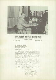 Page 10, 1956 Edition, Mulberry High School - Tiger Yearbook (Mulberry, KS) online yearbook collection