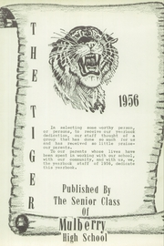 Page 7, 1956 Edition, Mulberry High School - Tiger Yearbook (Mulberry, KS) online yearbook collection
