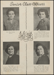 Page 14, 1947 Edition, Mulberry High School - Yellowjacket Yearbook (Mulberry, AR) online yearbook collection