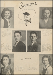 Page 15, 1947 Edition, Mulberry High School - Yellowjacket Yearbook (Mulberry, AR) online yearbook collection
