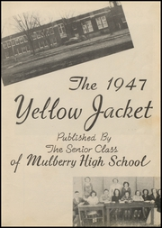 Page 7, 1947 Edition, Mulberry High School - Yellowjacket Yearbook (Mulberry, AR) online yearbook collection