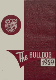 Muldrow High School - Bulldog Yearbook (Muldrow, OK) online yearbook collection, 1959 Edition, Cover