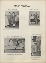 Page 15, 1959 Edition, Muldrow High School - Bulldog Yearbook (Muldrow, OK) online yearbook collection