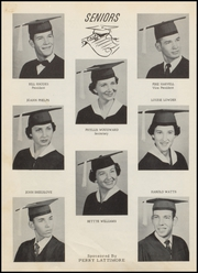 Page 16, 1959 Edition, Muldrow High School - Bulldog Yearbook (Muldrow, OK) online yearbook collection