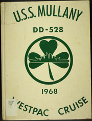 Mullany (DD 528) - Naval Cruise Book online yearbook collection, 1968 Edition, Cover