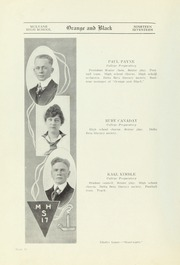 Page 10, 1917 Edition, Mulvane High School - Wildcat Yearbook (Mulvane, KS) online yearbook collection
