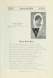 Page 13, 1917 Edition, Mulvane High School - Wildcat Yearbook (Mulvane, KS) online yearbook collection