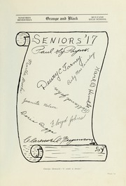 Page 9, 1917 Edition, Mulvane High School - Wildcat Yearbook (Mulvane, KS) online yearbook collection