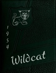 Mulvane High School - Wildcat Yearbook (Mulvane, KS) online yearbook collection, 1954 Edition, Cover