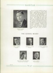Page 10, 1930 Edition, Muncie Central High School - Magician Yearbook (Muncie, IN) online yearbook collection