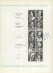 Page 13, 1930 Edition, Muncie Central High School - Magician Yearbook (Muncie, IN) online yearbook collection