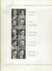 Page 14, 1930 Edition, Muncie Central High School - Magician Yearbook (Muncie, IN) online yearbook collection