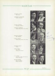 Page 15, 1930 Edition, Muncie Central High School - Magician Yearbook (Muncie, IN) online yearbook collection