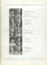 Page 16, 1930 Edition, Muncie Central High School - Magician Yearbook (Muncie, IN) online yearbook collection